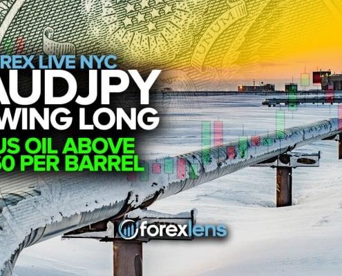 AUDJPY Swing Long + US Oil Above $60 Per Barrel