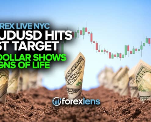AUDUSD Hits Target 1 + Dollar Shows Signs of Life
