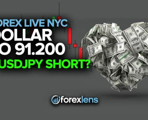 Dollar to 91.200 + USDJPY Short?