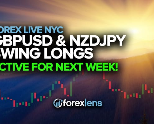 GBPUSD and NZDJPY Swing Longs Active For Next Week!