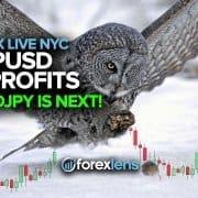 GBPUSD in Profits + NZDJPY is Next!