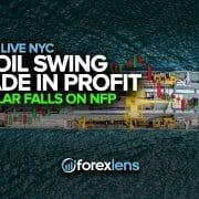 تداول النفط الأمريكي المتأرجح في الربح + تراجع الدولار على قوائم الرواتب غير الزراعية