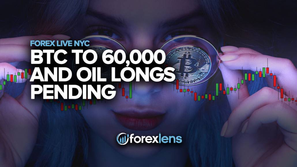 BTC-ni 60,000 gacha va neftni uzaytirish kutilmoqda