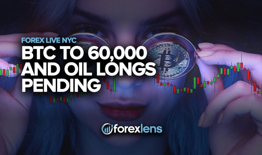 BTC to 60,000 and Oil Longs Pending