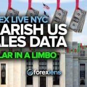 Мядзведжыя дадзеныя аб продажах у ЗША, долар у падвешаным стане