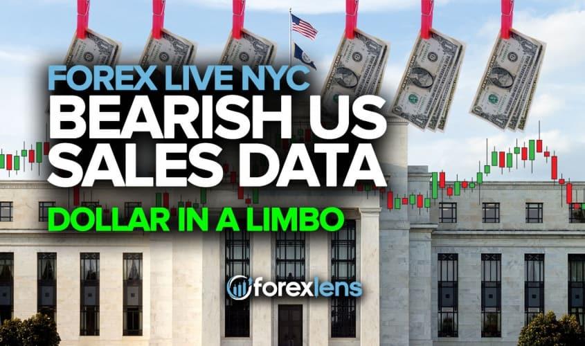 Bearish US Sales Data, Dollar in a Limbo