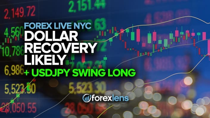 Dollar Recovery Likely + USDJPY Swing Long