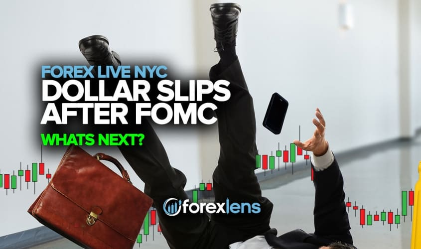 Dollar Slips After FOMC, What's Next?