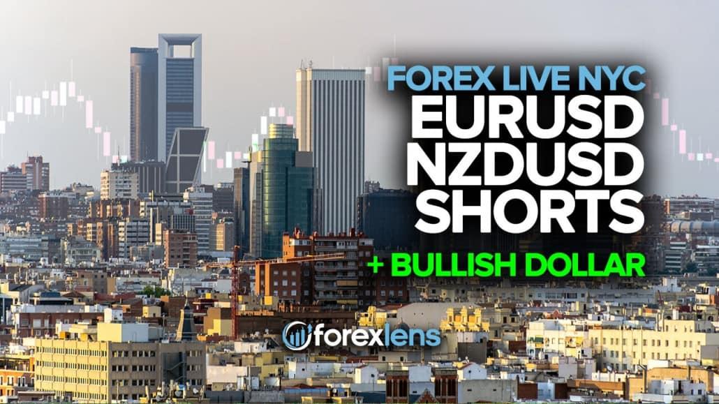 EURUSD & NZDUSD Shorts + Bullish Dollar