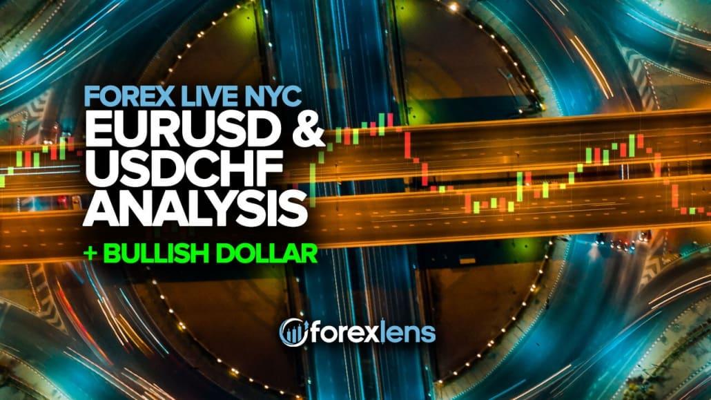 Buqaviy dollar bilan EURUSD va USDCHF tahlili