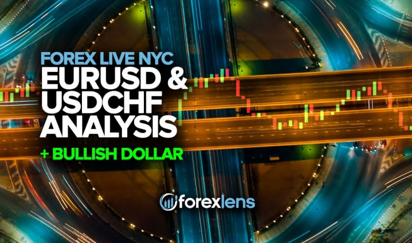 EURUSD & USDCHF Analysis with a Bullish Dollar