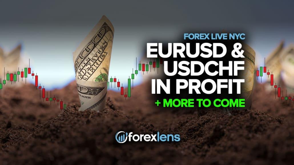 EURUSD va USDCHF foydasida + Kelgusi narsalar