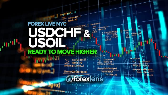 USDCHF and US Oil Ready to Move HIgher (edited)