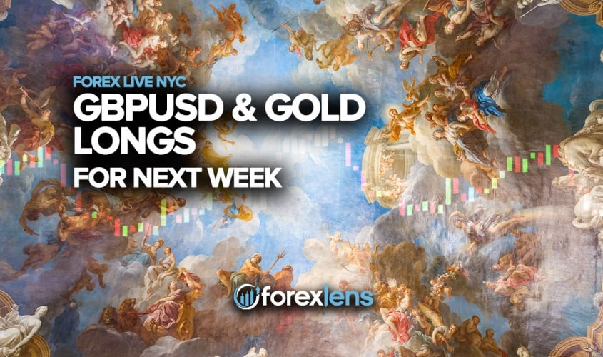 GBPUSD and Gold Longs for Next Week