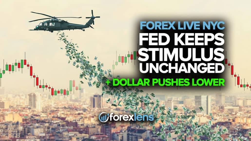Fed rag'batlantirishni o'zgarishsiz ushlab turadi + Dollar surish darajasi pastroq