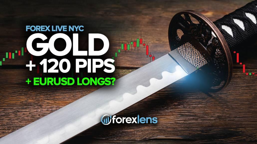 +120 Piples Gold + EURUSD Longs?