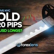 +120 pips de l'or + EURUSD Longs?