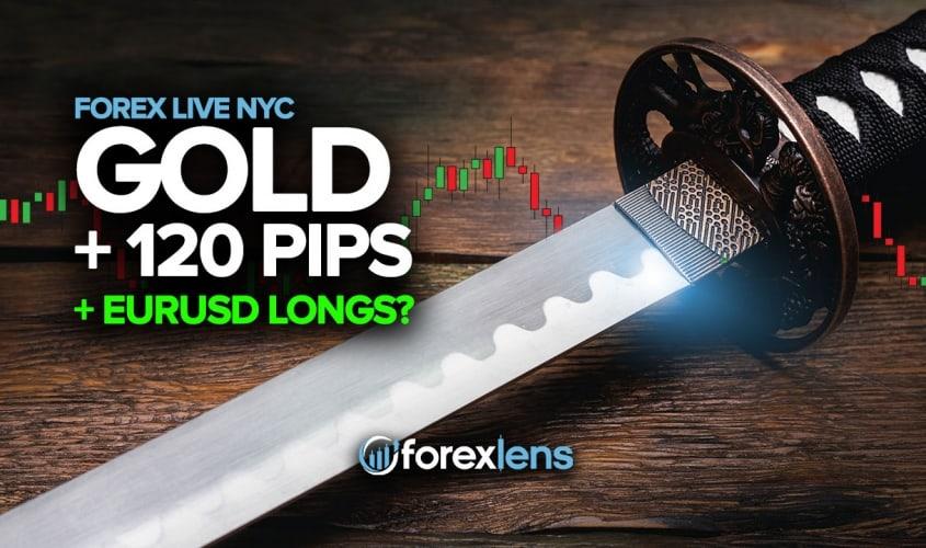 +120 Pips from Gold + EURUSD Longs?