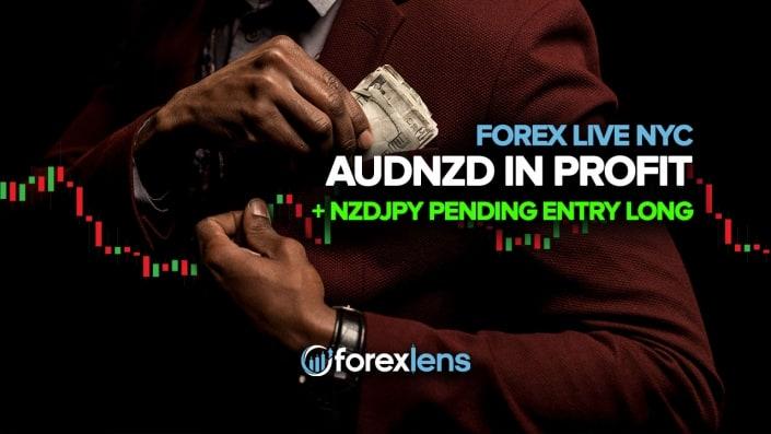 AUDNZD in Profit + NZDJPY Kirish kutilmoqda