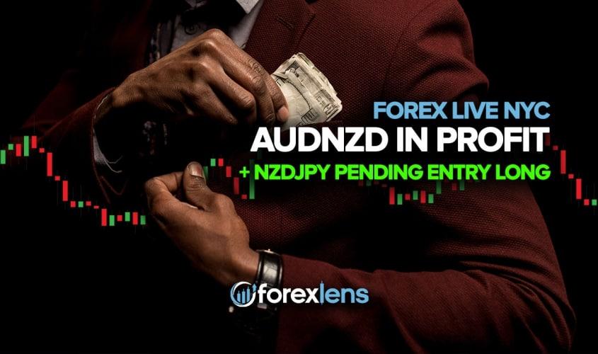 AUDNZD in Profit + NZDJPY Pending Entry Long