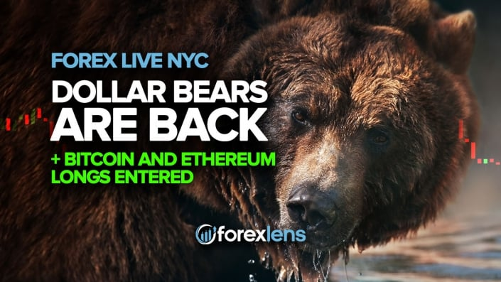 Dollar Bears are Back, Bitcoin and Ethereum Longs Entered