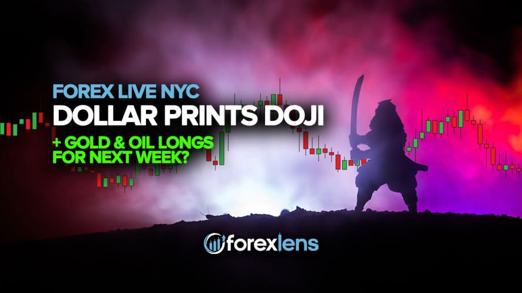 Kelgusi hafta uchun Dollari Doji + Oltin va Yog 'uzunliklarini bosib chiqaradimi?