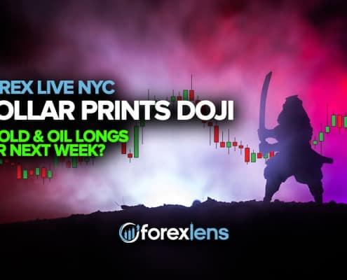 اگلے ہفتے میں ڈالر پرنٹ کیا جاتا ہے ڈوجی + سونے اور تیل کے قریب؟