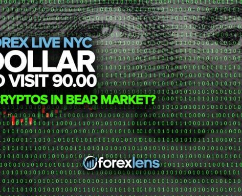 ڈالر ریچھ مارکیٹ میں 90.00 + کریپٹوس دیکھنے کے لئے؟