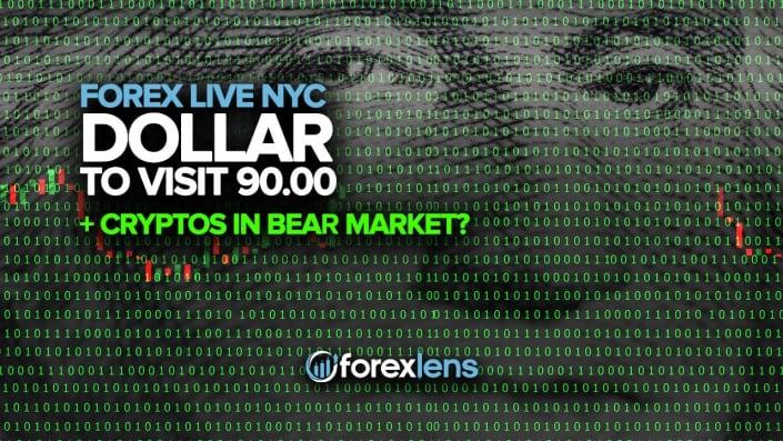 Dollar to Visit 90.00 + Cryptos in Bear Market?