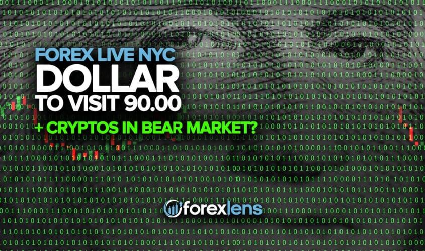 Idola yokundwendwela i-90.00 + i-Cryptos kwiNtengiso ye-Bear?