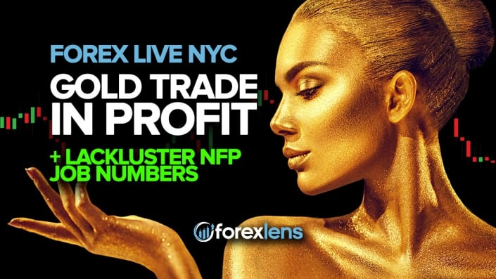 Gold Trade in Profit After Lackluster NFP Job Numbers