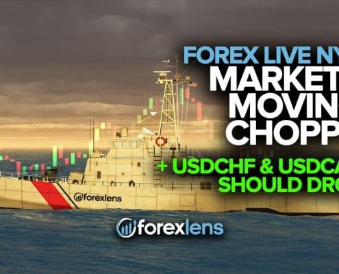 مارکیٹس چیپی منتقل لیکن USDCHF اور USDCAD کو چھوڑنا چاہئے