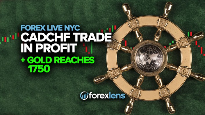 CADCHF Trade in Profit + Gold Reaches 1750