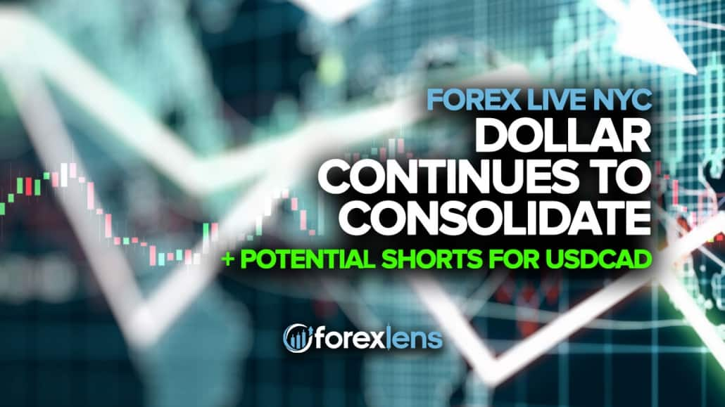 Dollar Continues to Consolidate and Potential Shorts for USDCAD