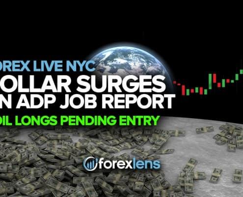 اے ڈی پی جاب کی رپورٹ پر ڈالر کے اضافے + آئل لنس زیر التواء اندراج