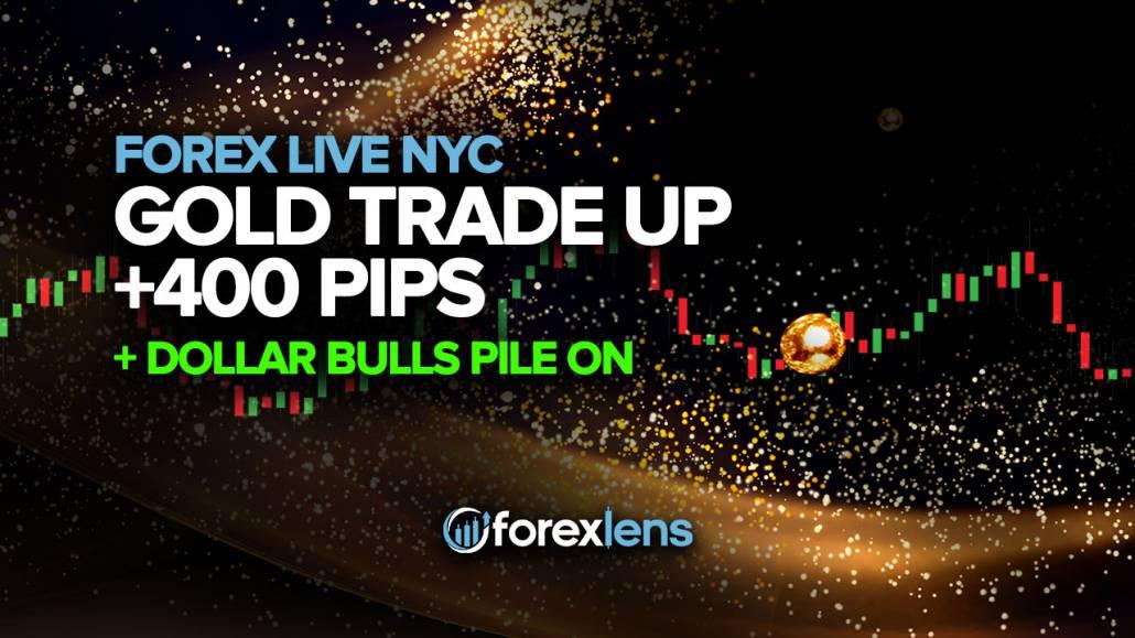 Gold Trade Up +400 Pips as Dollar Bulls Pile On