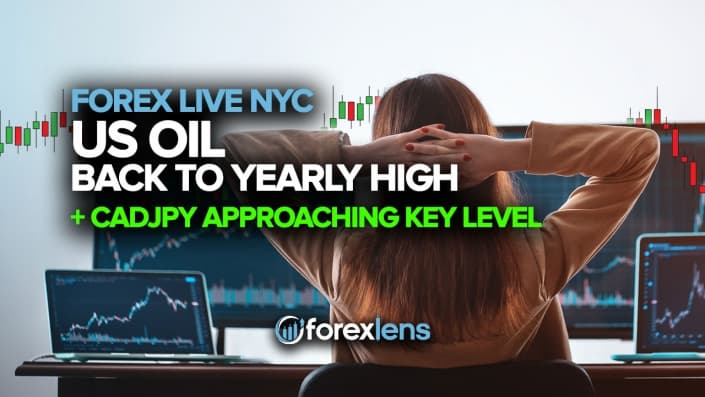 US Oil Back to Yearly High + CADJPY Approaching Key Level