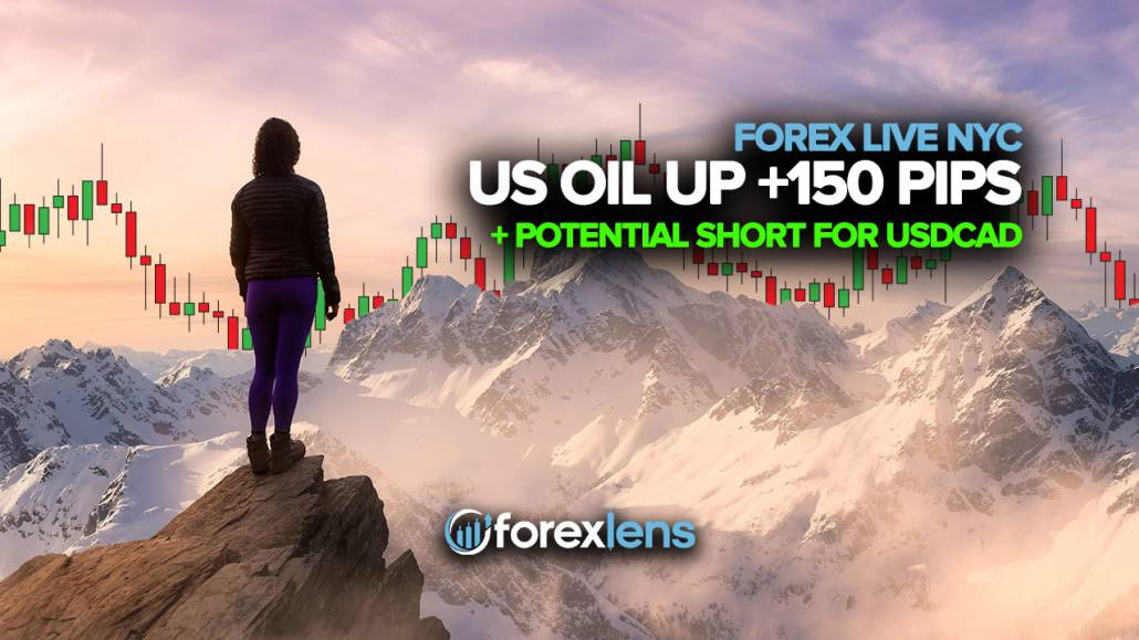 US Oil Up +150 Pips va USDCAD uchun potentsial qisqa