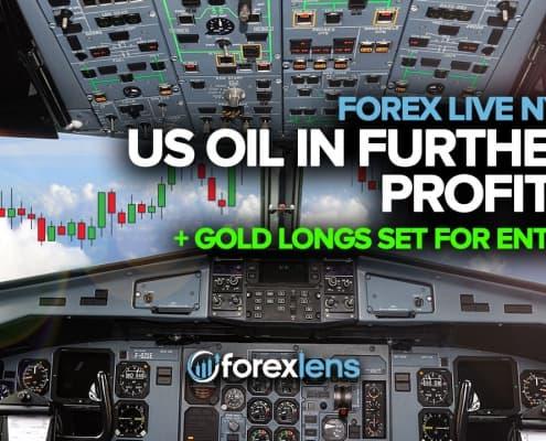 Нефть США в дальнейшей прибыли + длинная позиция по золоту для входа