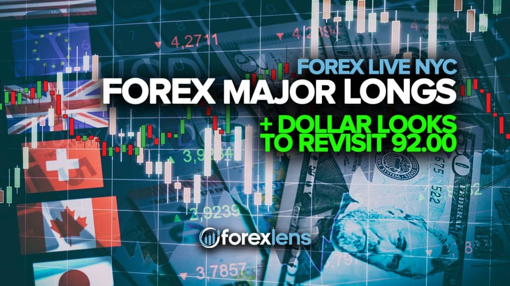 Forex Major Longs as Dollar Looks to Revisit 92.00