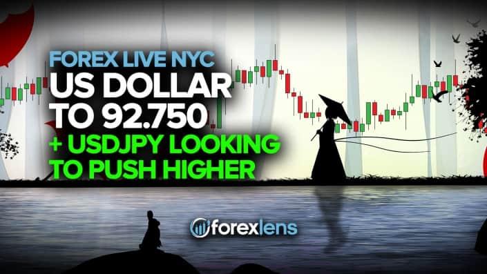 Доллар США до 92.750 с USDJPY, стремящимся подняться выше