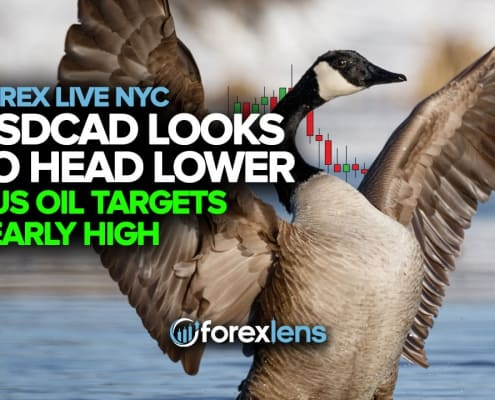 USDCAD Looks to Head Lower and US Oil Targets Yearly High
