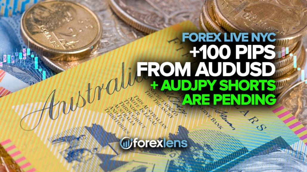 +100 Pips from AUDUSD and AUDJPY Shorts are Pending