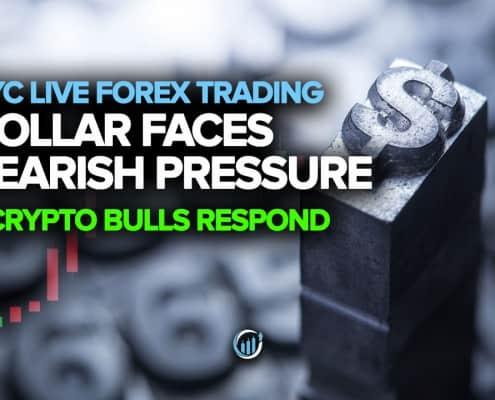 Dollar Faces Bearish Pressure + Crypto Bulls Respond