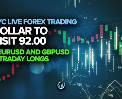 Dollar to Visit 92.00 + EURUSD and GBPUSD Intraday Longs