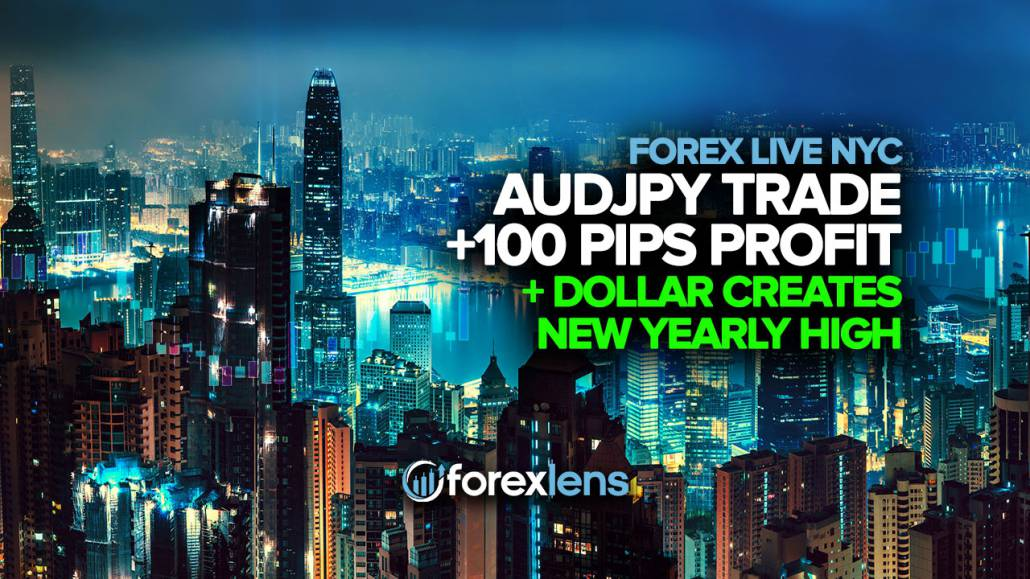 AUDJPY Trade in +100 Pips of Profit, Dollar Creates New Yearly High