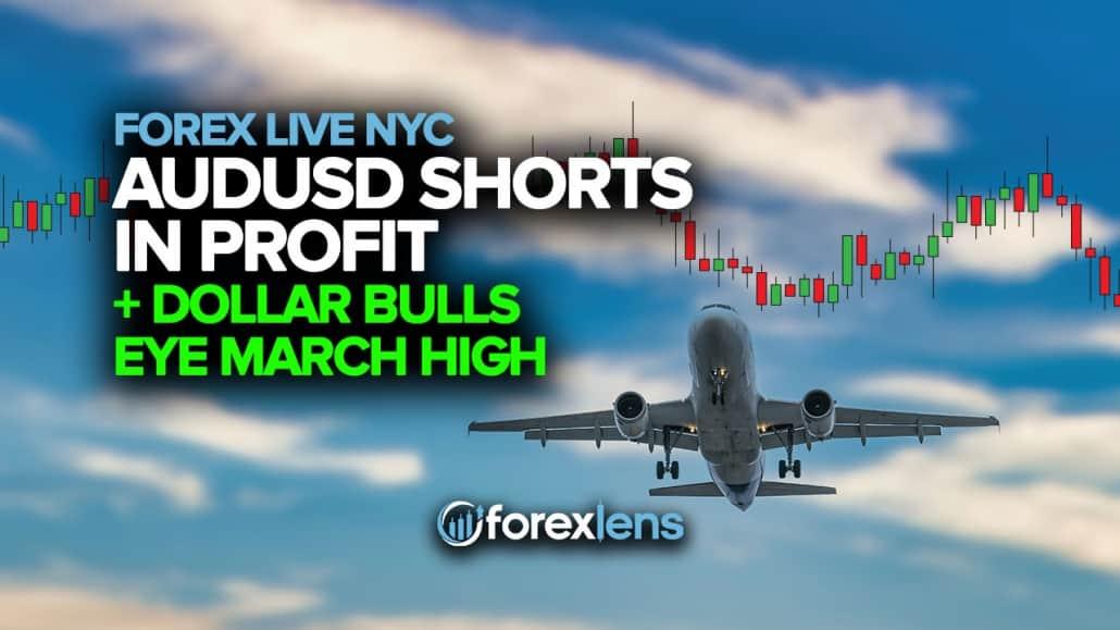 AUDUSD Shorts in Profit as Dollar Bulls Eye March High