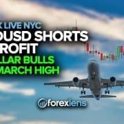 AUDUSD dị mkpụmkpụ na uru dị ka Dollar Bulls Eye March dị elu