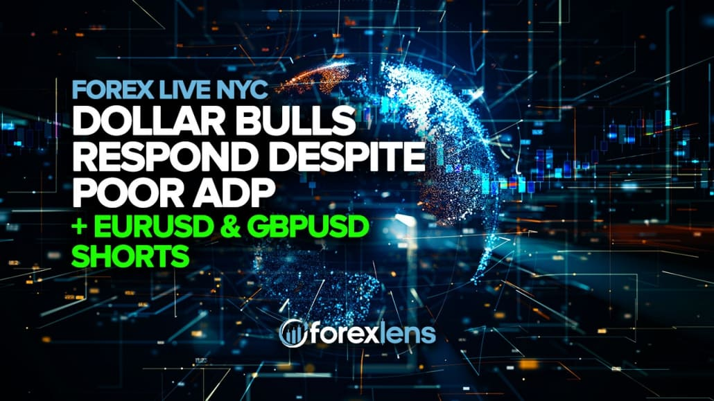 Dollar Bulls Respond Despite Poor ADP, EURUSD and GBPUSD Shorts