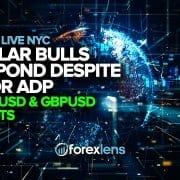 Биковите од долар реагираат и покрај лошите шорцеви за ADP, EURUSD и GBPUSD
